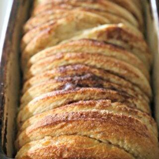loaf of cinnamon bread