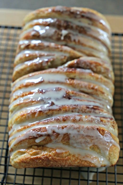 You can make delicious loaves of Easy Pull-Apart Cinnamon Bread, even if you don't know how to knead dough! It starts with two loaves of Rhodes White Bread and a few ingredients that you probably already have at home.