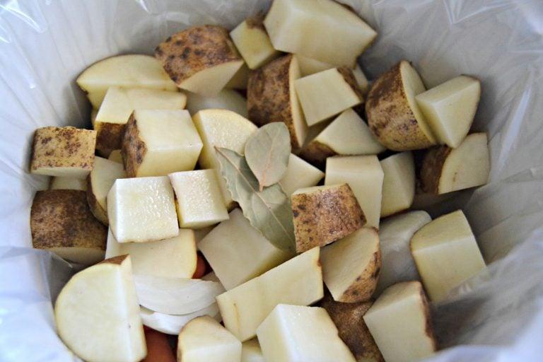 roast ingredients in a CrockPot