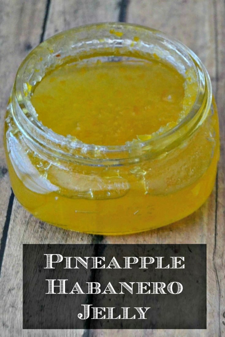 Pineapple Habanero Jelly