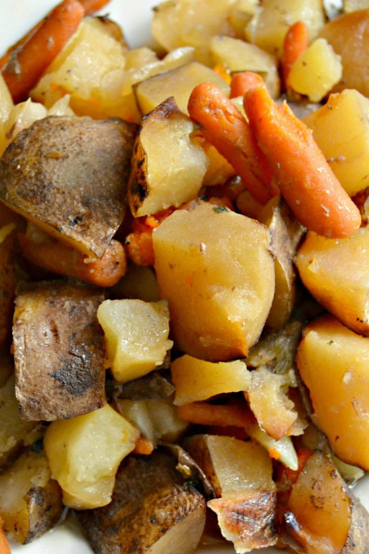 Slow Cooker Seasoned Roast