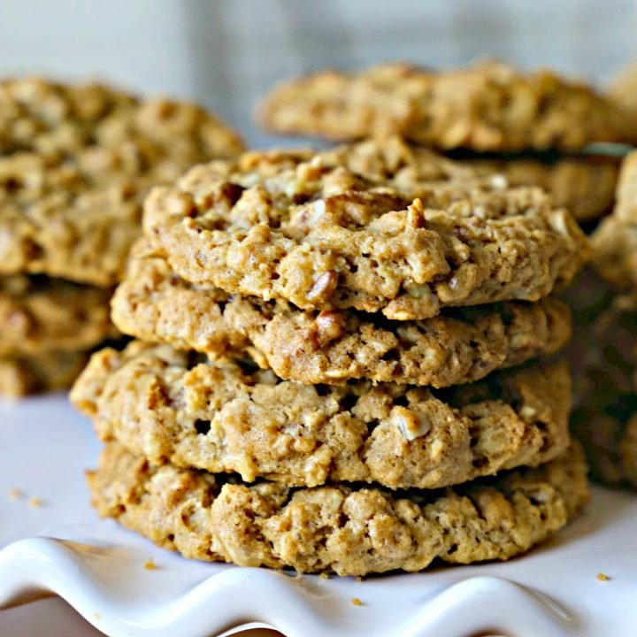 Toasted Pecan Cookies