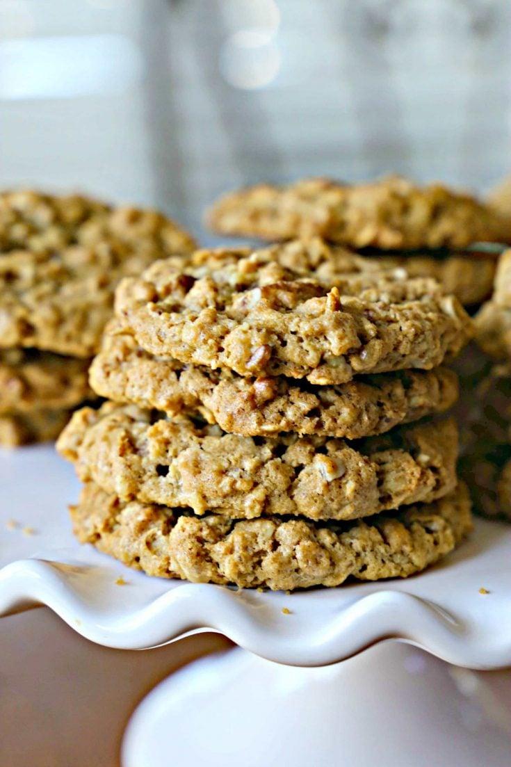 Toasted Pecan Cookies