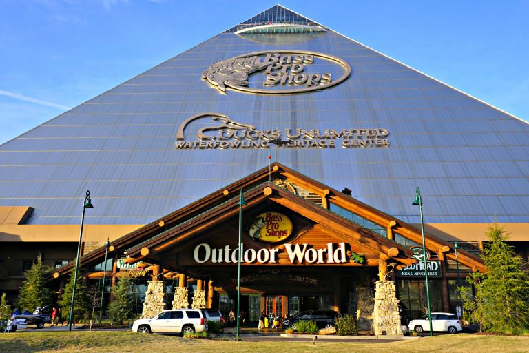 Bass Pro Shops in Memphis, Tennessee is a destination along the Mississippi River that you need to experience.
