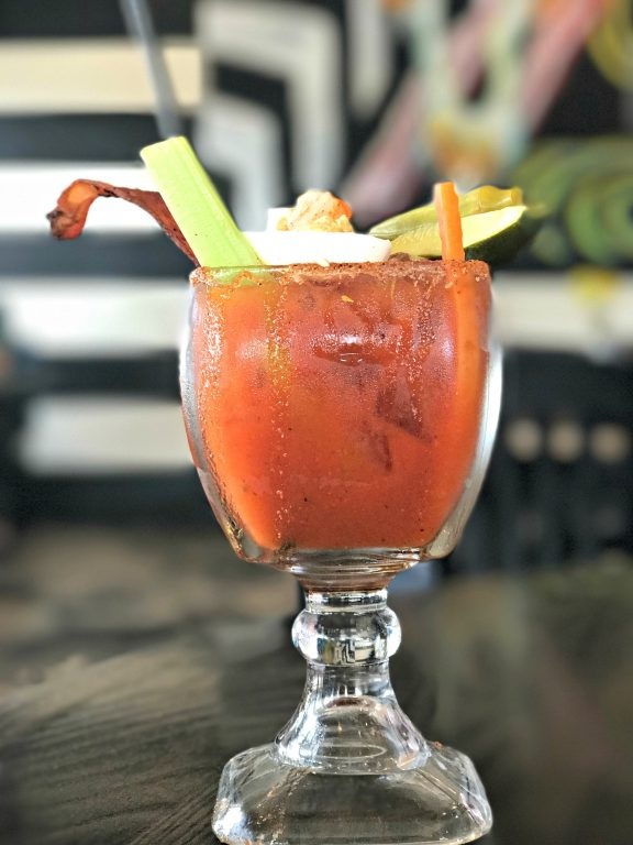Bloody Mary at Brick and Spoon in Orange Beach