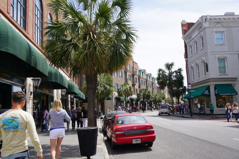 King Street in Charleston, South Carolina