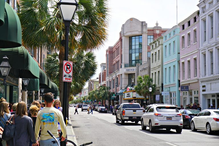 view of street in Charleston