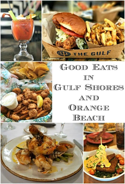 Good Eats in Gulf Shores and Orange Beach can be found all over, so to help narrow your choices I am sharing with you six fabulous places to sink your teeth into.