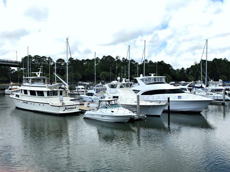 boats in water near Lulu's