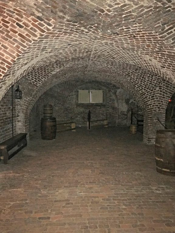 Dungeon in Charleston where pirates were once held.