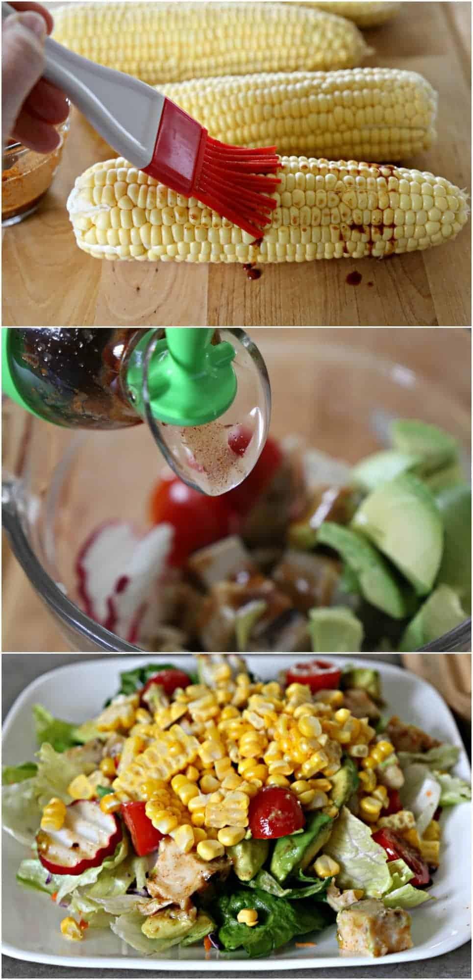 steps for making salad
