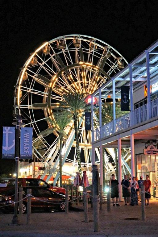 Gulf Shores and Orange Beach - The Ferris Wheel at the Wharf