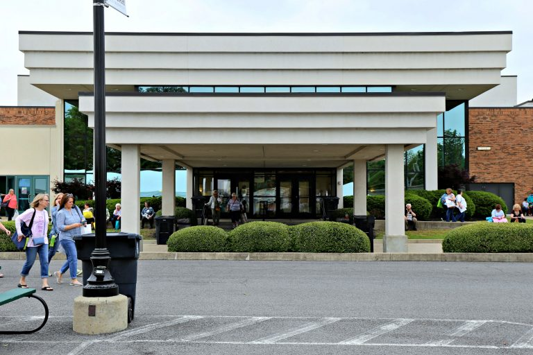 Schoeder Expo Center - the home of AQS Quilt Week in Paducah