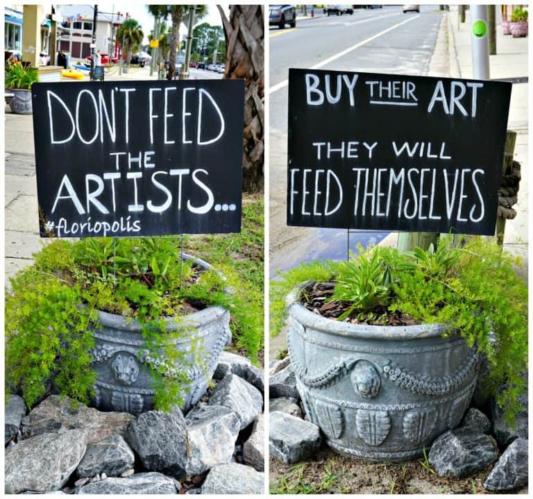 Don't Feed the Artists...Buy Their Art and They Will Feed Themselves