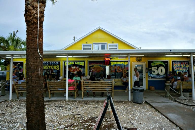 Hunt's Oyster Bar in Panama City, Florida