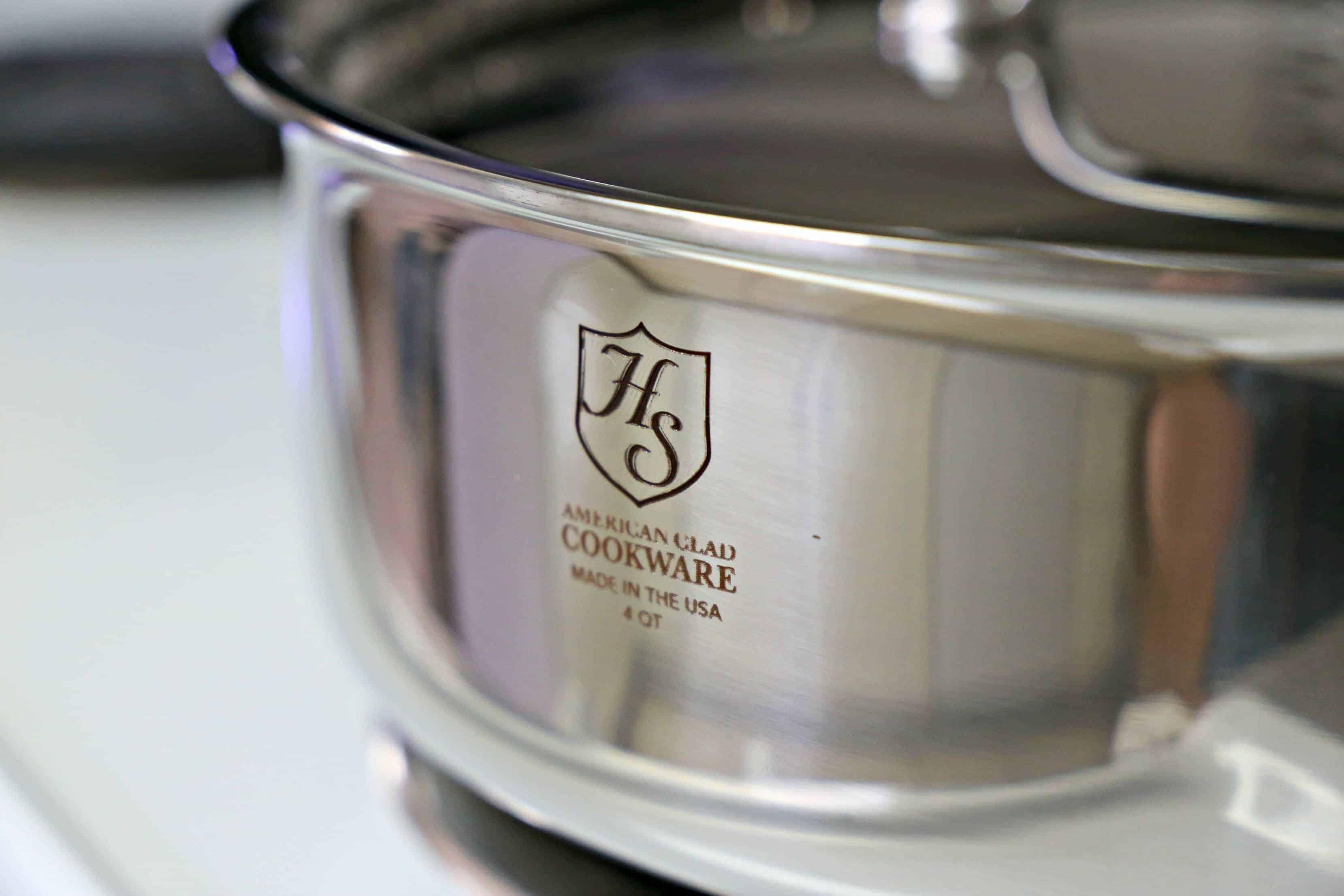 Hammer Stahl 4-quart stainless steel pan