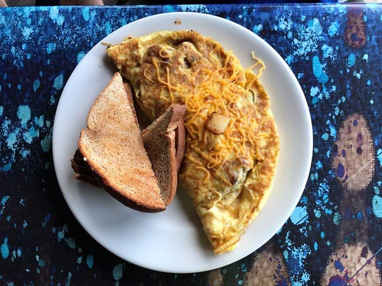 Farmer's Omelette at Bayou Joe's