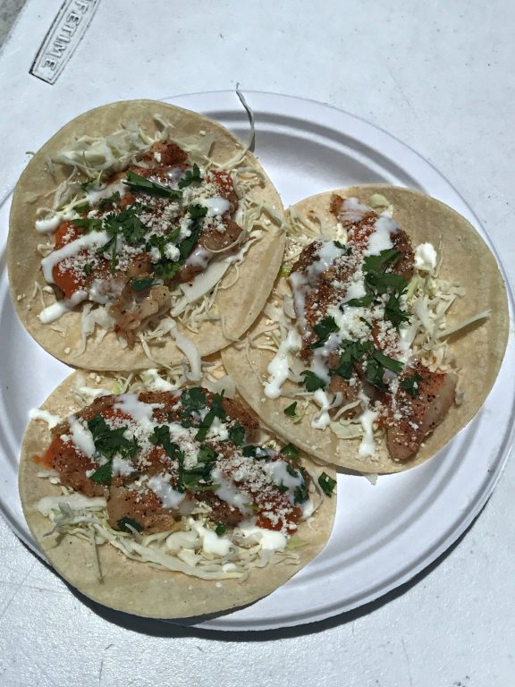 Fish Tacos at Just the Cook