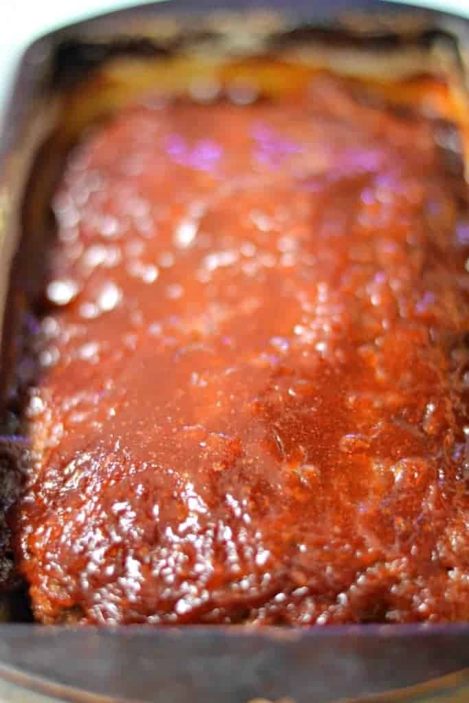 Brown Sugar Glazed Meatloaf - this recipe will soon become your family's favorite recipe for meatloaf. It's delicious!