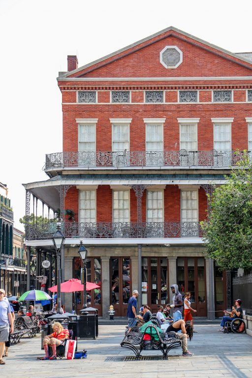 red brick building in New Orleans, Louisiana