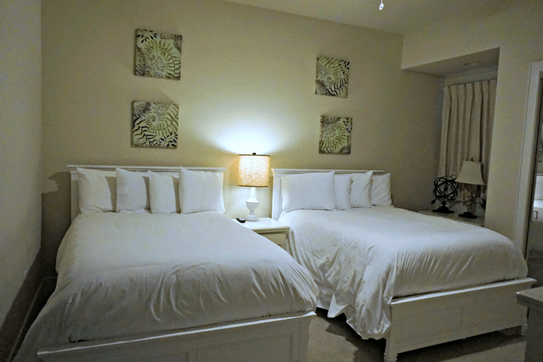Guest Bedroom at Turquoise Place