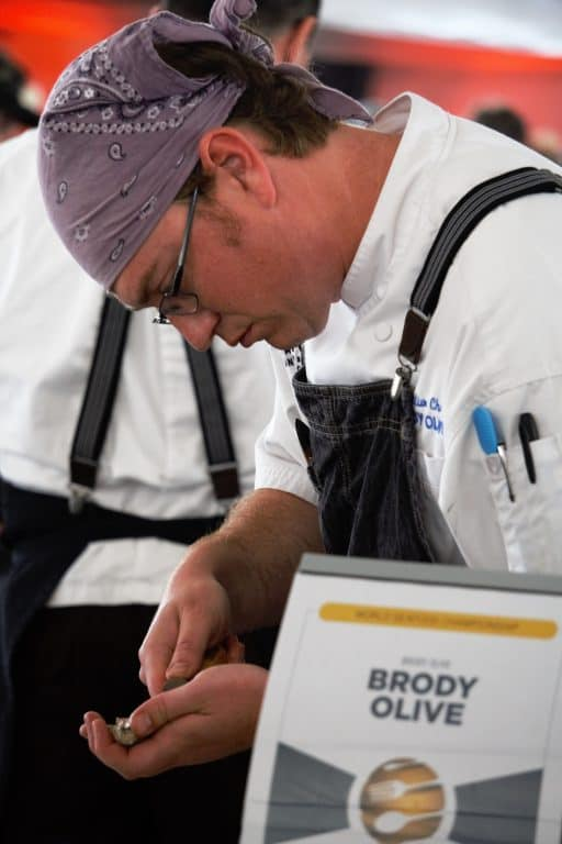 Chef Brody Olive of Orange Beach, Alabama