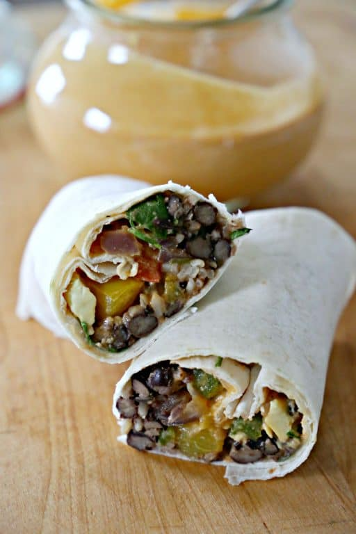 Chipotle and Lime Forever Burritos with Smoky Tangy Cream