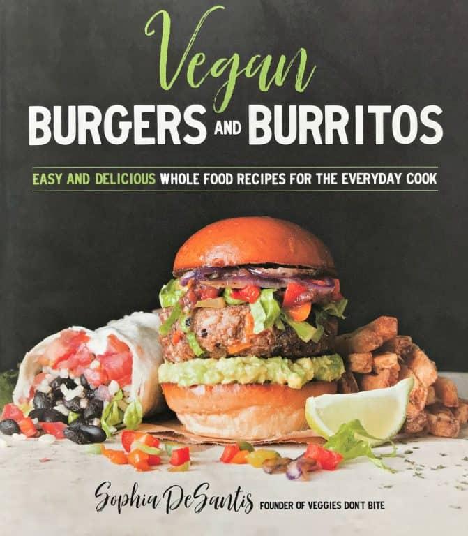 Vegan Burgers and Burritos book