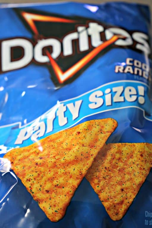 Bag of Cool Ranch Doritos