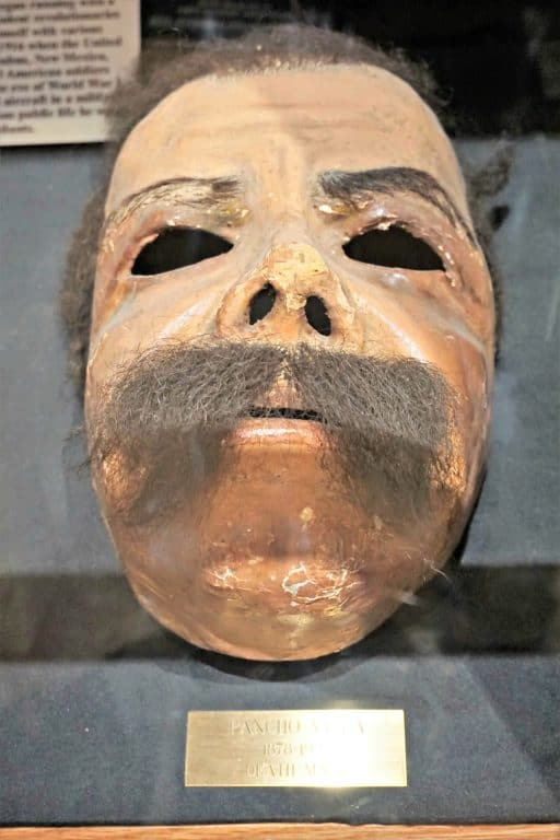 Pancho Villa's death mask