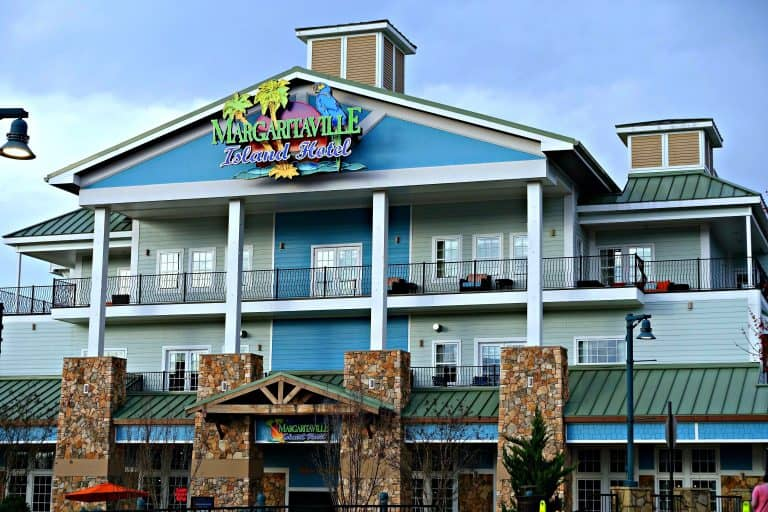 Margaritaville Island Hotel in Pigeon Forge