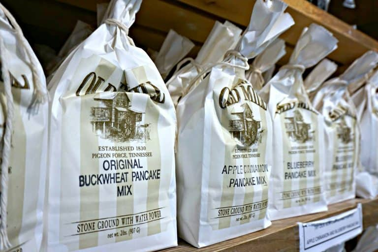 Pancake Mix for sale at The Old Mill