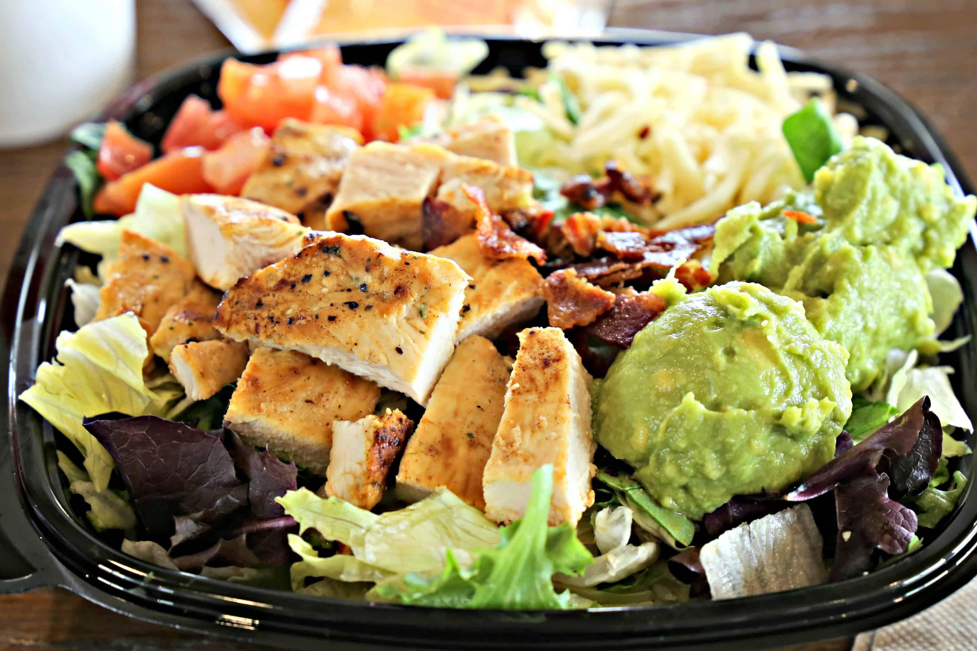 Wendy S Southwest Avocado Chicken Salad