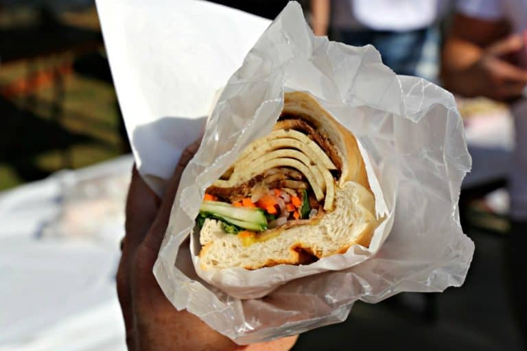 Banh mi from M Thai Street Food