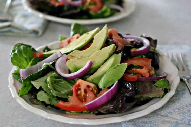 Dominican Avocado Salad