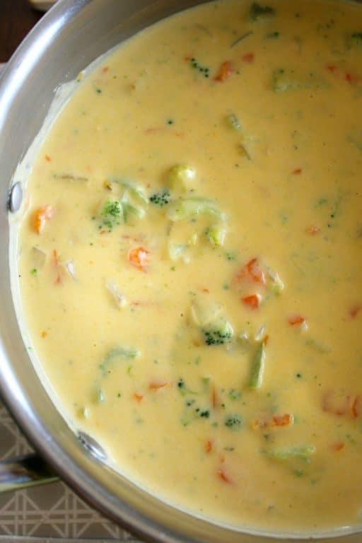Broccoli Cheddar Soup clone