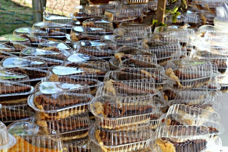 Pecan Pie slices from Southern Baked Pie Company