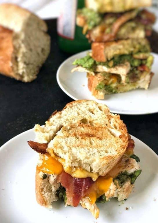 chipotle chicken panini