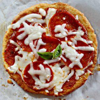 small keto pizza