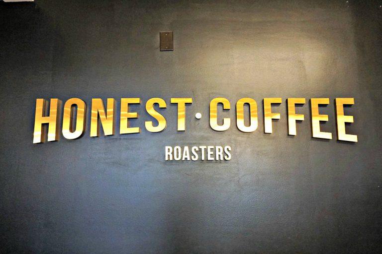Honest Coffee Roasters sign