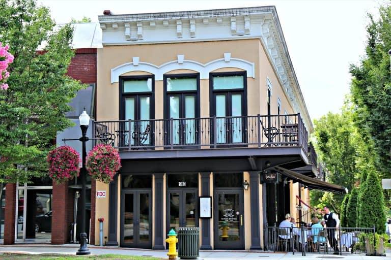 Cotton Row building in Huntsville