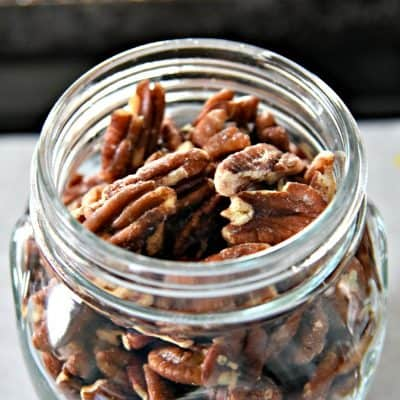 Oven-Roasted Salted Pecans