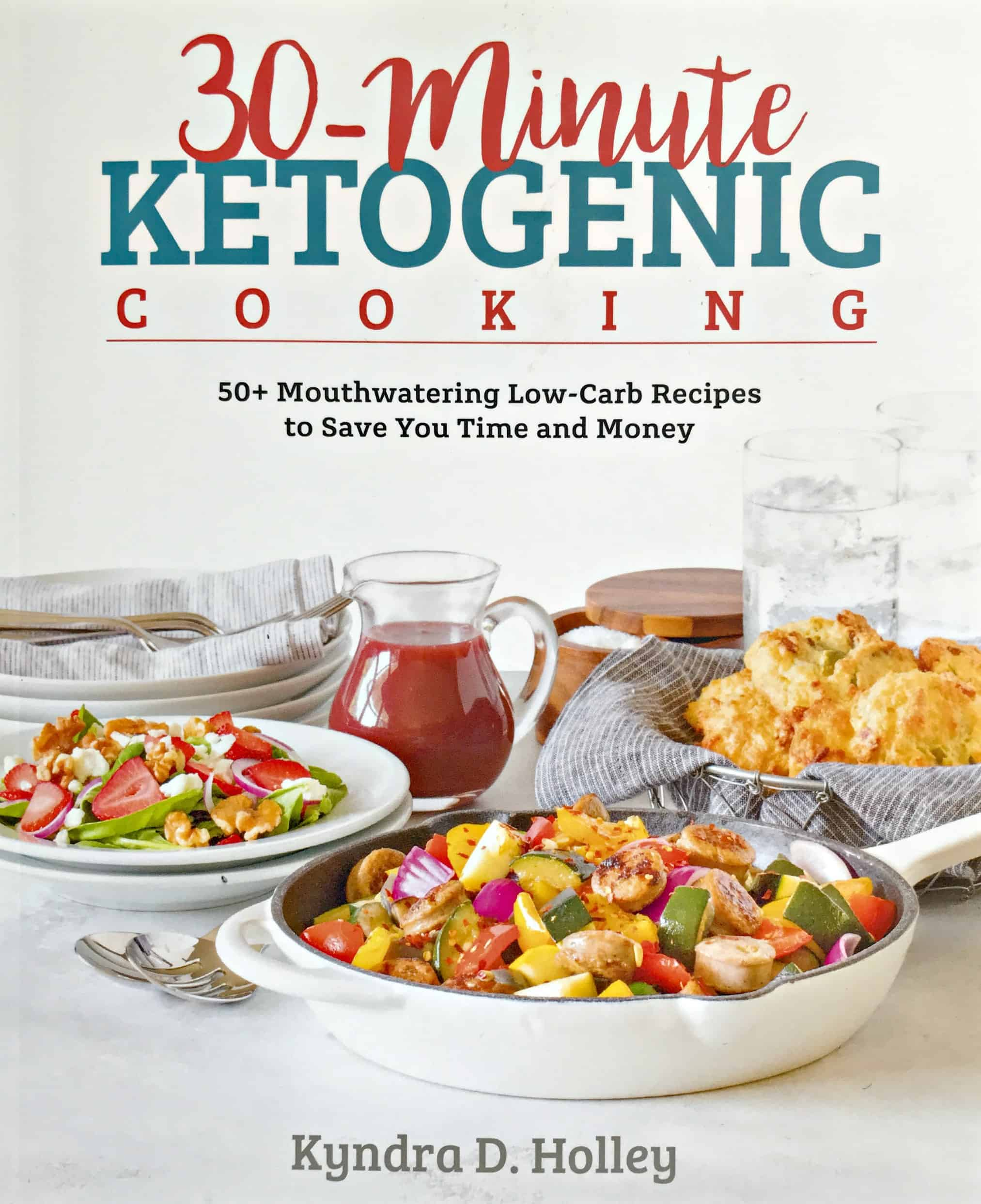 30-Minute Ketogenic Cooking cookbook cover