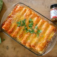Zesty Cheesy Enchiladas