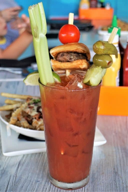 Bloody Mary Had a Little Cow adult drink