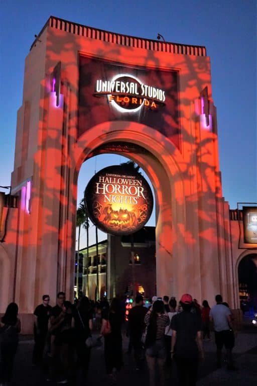 Universal Studios Halloween Horror Nights sign