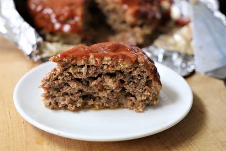 slice of meatloaf