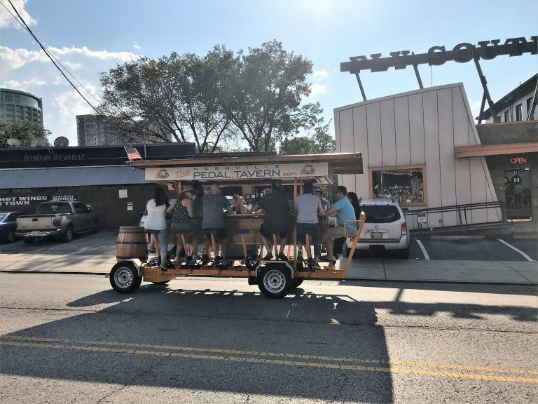 pedal tavern in Nashville