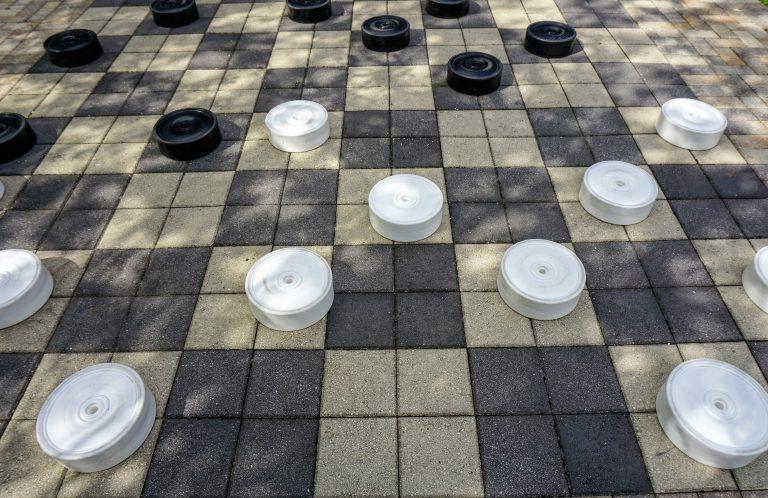 oversized checker board