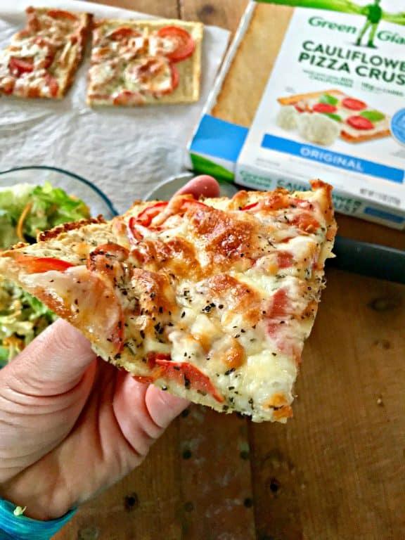 Rustic Italian Pizza With Cauliflower Crust